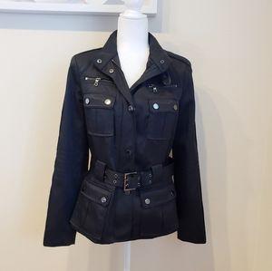 Zara Black Utility Jacket